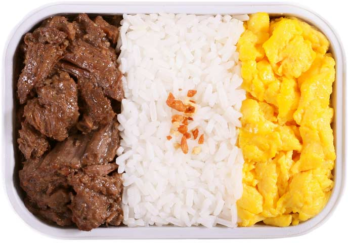 Beef Tapa with Scrambled Egg