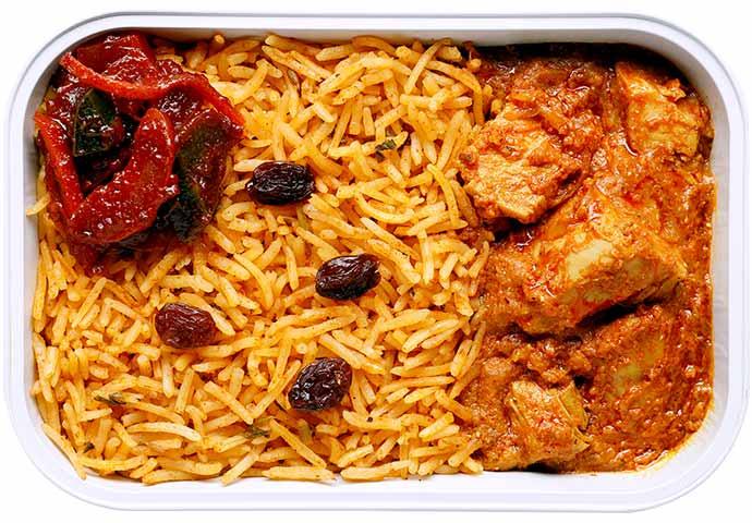 Bukhara Chicken Biryani