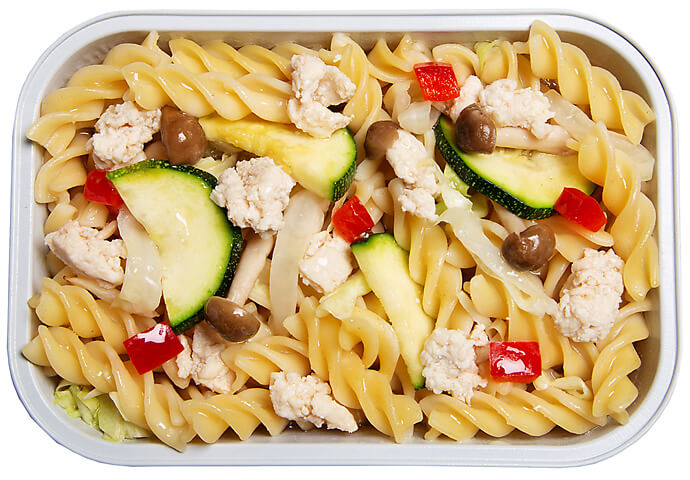 Pasta Primavera with Chicken and Vegetables