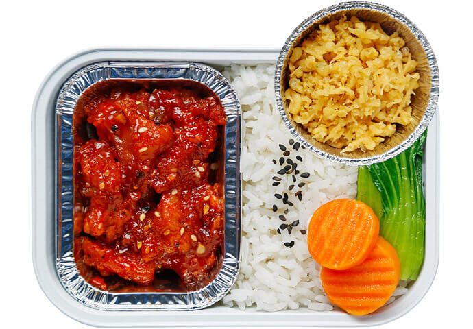 Chef Hong's Korean Sweet and Spicy Chicken (Dakgangjeong)