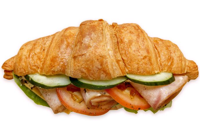 Gourmet Croissant Sandwich