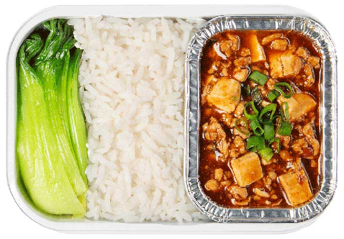 Chicken Mapo Tofu with Rice