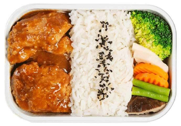 味噌チキン丼