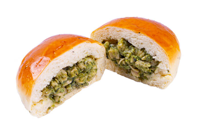Chicken Pesto Bun