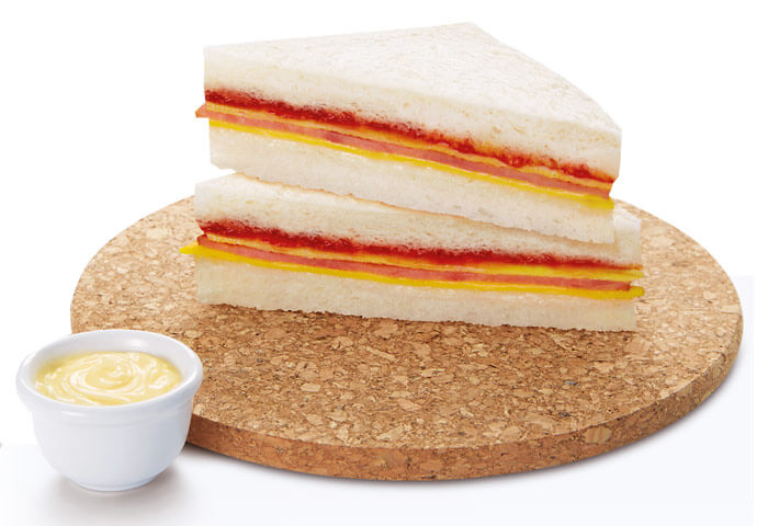 TEC Sandwich (Turkey, Egg & Cheese)