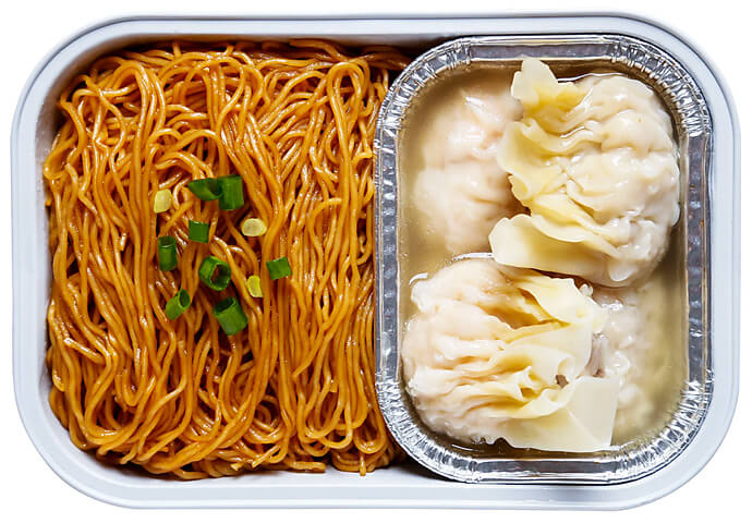 Prawn & Chicken Wonton Noodles
