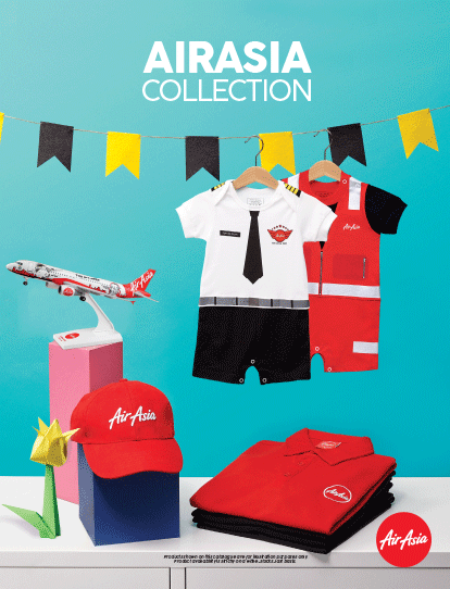 AirAsia merchandise catalogue for I5 flight
