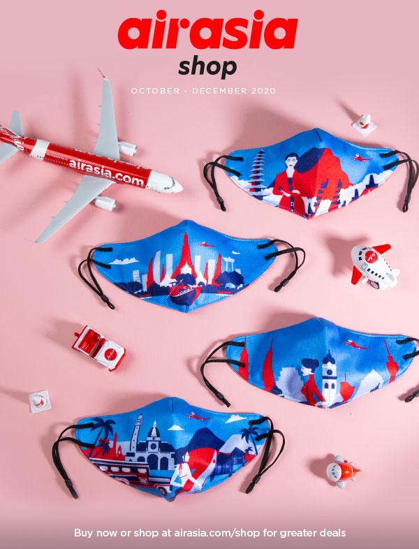 airasia shop catalog for AK flight